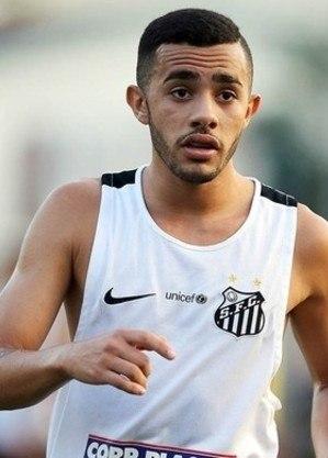 Claudinho no Santos