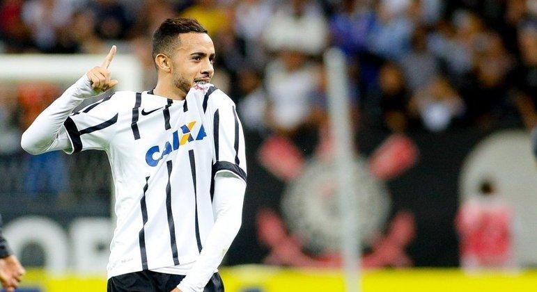 Claudinho também não foi aproveitado pelo Corinthians. Grande desperdício