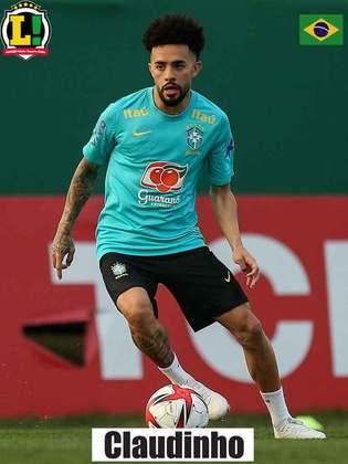 Claudinho - 6 - O meia-atacante do Bragantino conseguiu boas jogadas individuais, mas não esteve em seu melhor dia