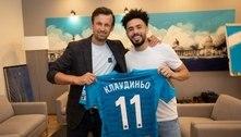 Claudinho é anunciado no Zenit com dança ao som de The Weeknd
