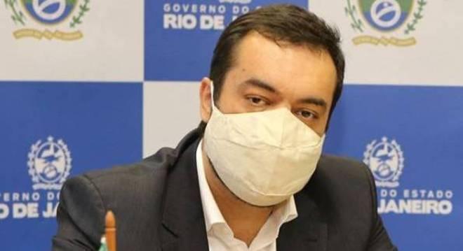 Governador em exercício do Rio de Janeiro, Cláudio Castro está com covid-19