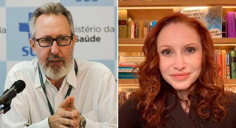 Claudio Maierovitch e Natalia Pasternak