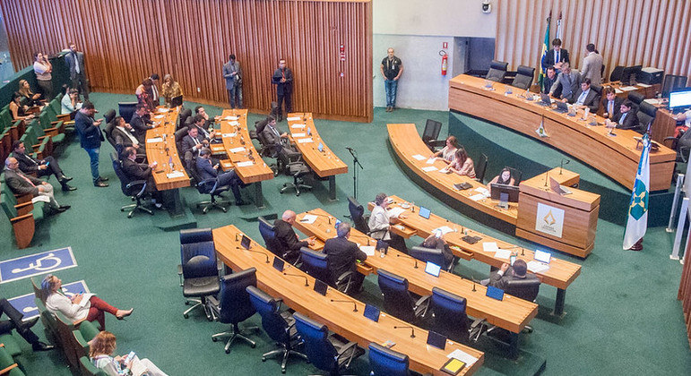 Plenário da Câmara Legislativa do Distrito Federal