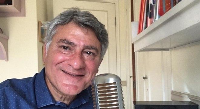 Cléber Machado narra final do Campeonato Paulista na TV Globo