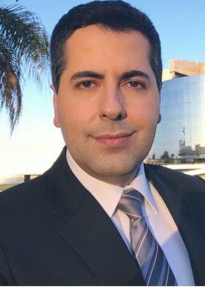 O repórter Clébio Cavagnolle