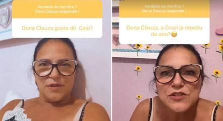 Cleuza Soares falou sobre o genro