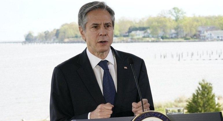 Secretário de Estado Antony Blinken deu declarações nesta segunda-feira (19)