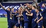 Não vai ser por clima ruim que o Paris Saint-Germain vai entrar em campo preocupado contra o Atalanta, no próximo dia 12, pelas quartas de final da Champions League. Como naquele Santos de Neymar, o brasileiro é o principal líder da bagunça. A selfie após conquista da Copa da Liga da França, é claro, ficou na responsabilidade do camisa 10