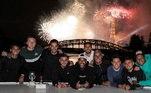 Olha a panela junta de novo no feriado francês da Queda da Bastilha. Basta saber se esse clima vai ajudar no sonho do PSG, a conquista da Champions League