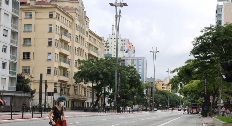 Temperatura não deve ultrapassar os 28ºC neste sábado na cidade de São Paulo