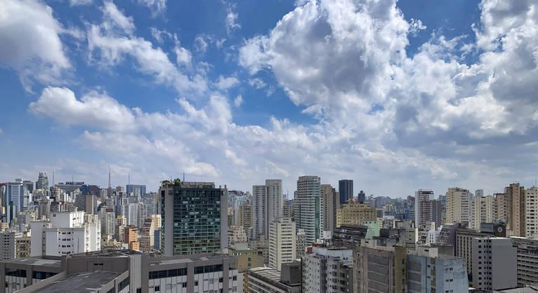 Tempo firme predomina nesta quinta-feira (8) na cidade de São Paulo