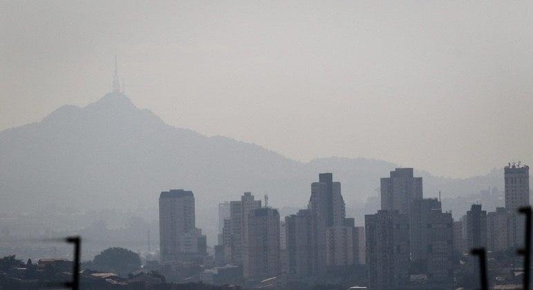 Massa de ar seco predomina na cidade de São Paulo nesta quarta-feira (14)