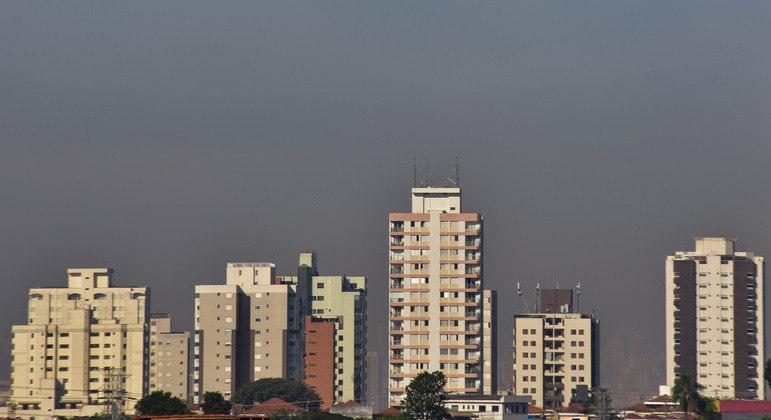 Sem previsão de chuva percentuais de umidade continuam abaixo dos 30% na capital