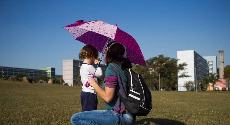 Temperatura não deve ultrapassar os 31ºC na capital paulista neste sábado (21)