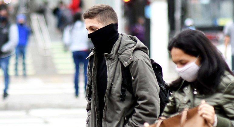 Clima na capital paulista continua frio com máxima de 22ºC nesta quinta-feira (23)
