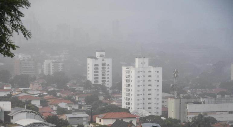 Temperatura máxima não deve ultrapassar os 21ºC na capital
