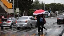 Massa de ar polar provoca chuva e faz temperatura despencar em SP