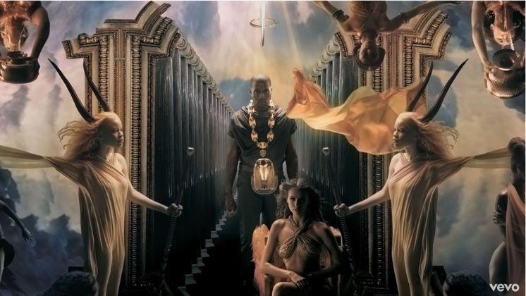Em 2010, inclusive, a modelo participou do videoclipe de Power, canção do rapper
