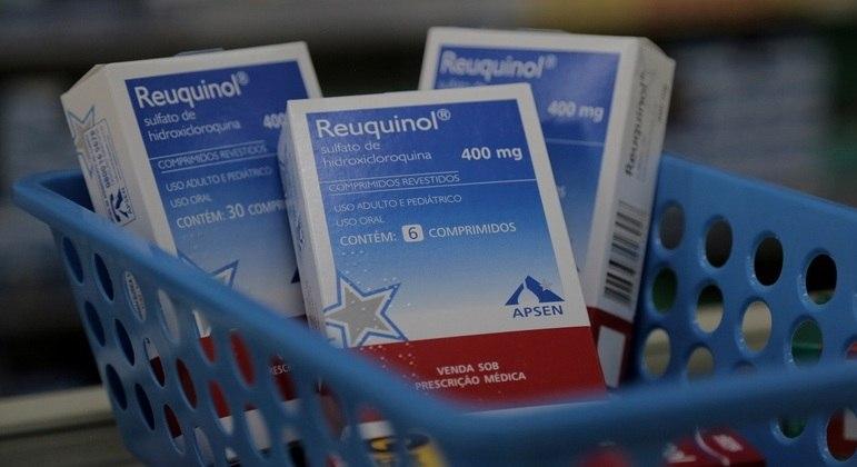 Ministério da Saúde tem diretriz que instrui uso da hidroxicloroquina em pacientes com covid