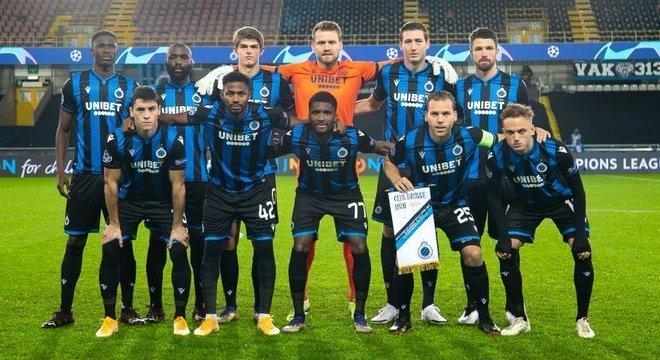 Club Brugge, os onze que começaram contra o Zenit