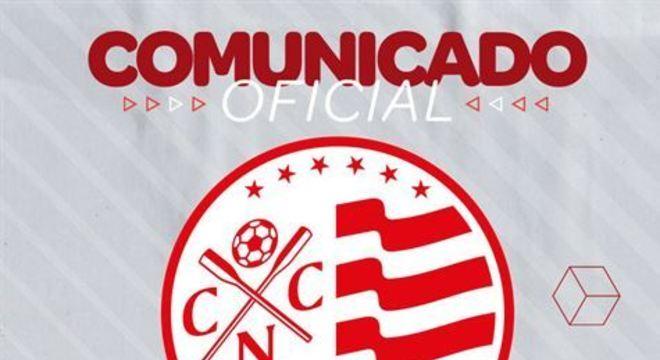 Clube alvirrubro resolveu seguir as recomendações do Poder Público; Retorno estava previsto para segunda (23)