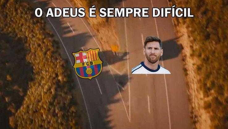 Clube espanhol anunciou que não renovou com o craque argentino e torcedores foram às redes sociais para brincar com a situação. Veja na galeria os memes! (Por Humor Esportivo)