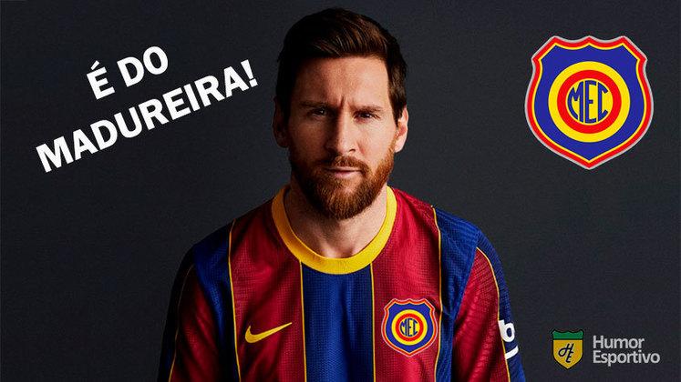 Clube espanhol apresentou a nova camisa nesta terça-feira e os internautas acusaram os catalães de 'plágio'. Veja alguns memes!