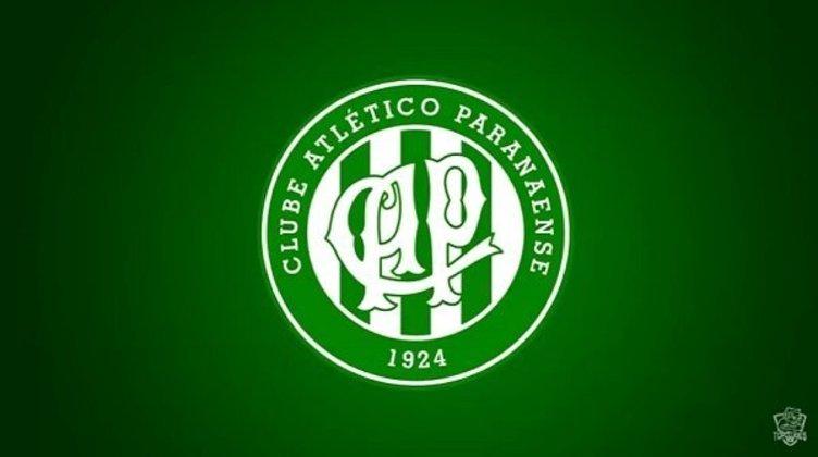 Clubes brasileiros com as cores dos rivais: Coritiba e Athletico Paranaense (escudo antigo).