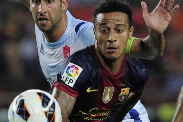 6º Barcelona - Thiago Alcântara ajudou a colocar Barcelona na lista (Foto: Getty Images) O Barcelona de Thiago Alcântara é outro espanhol no top 10