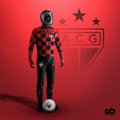 Clubes da Série A ganham uniformes contra pandemia: Atlético Goianiense