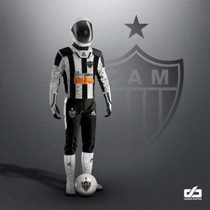 Clubes da Série A ganham uniformes contra pandemia: Atlético Mineiro
