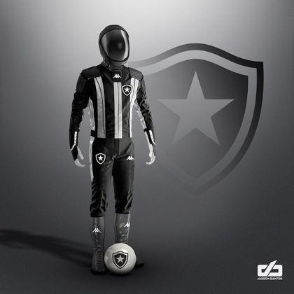Clubes da Série A ganham uniformes contra pandemia: Botafogo