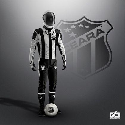 Clubes da Série A ganham uniformes contra pandemia: Ceará