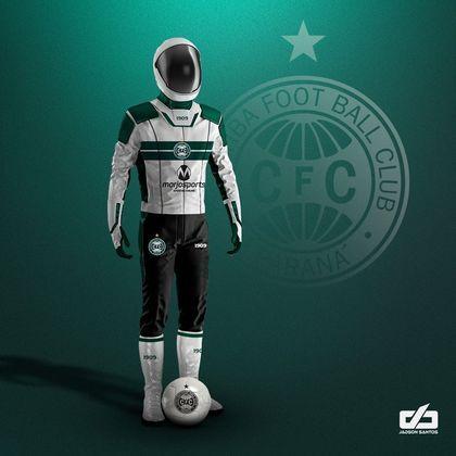 Clubes da Série A ganham uniformes contra pandemia: Coritiba