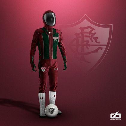 Clubes da Série A ganham uniformes contra pandemia: Fluminense