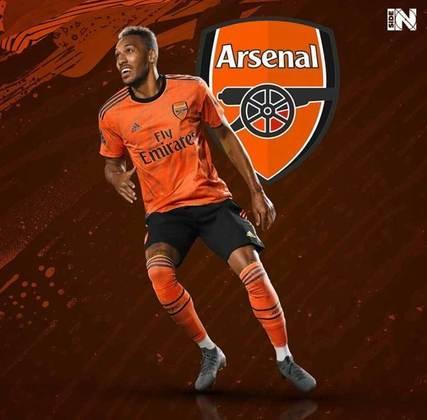 Clubes de futebol mudam as cores tradicionais: Arsenal