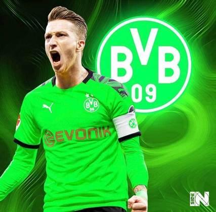 Clubes de futebol mudam as cores tradicionais: Borussia Dortmund