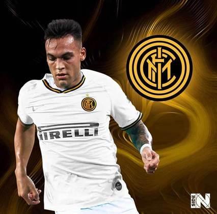 Clubes de futebol mudam as cores tradicionais: Inter de Milão