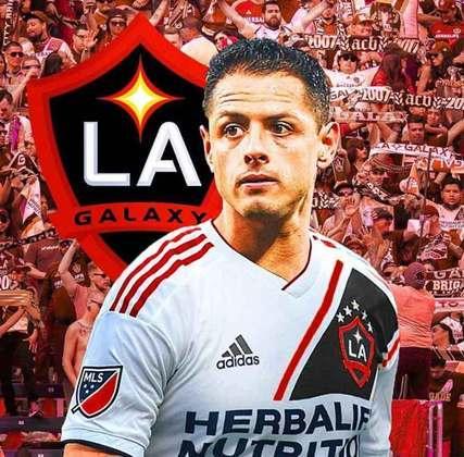 Clubes de futebol mudam as cores tradicionais: Los Angeles Galaxy
