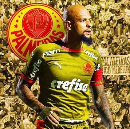 Clubes de futebol mudam as cores tradicionais: Palmeiras