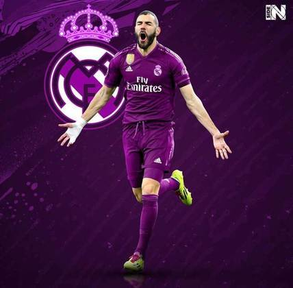 Clubes de futebol mudam as cores tradicionais: Real Madrid