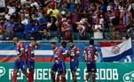 14- Bahia: O Bahia é o 14º da lista, com despesas no futebol avaliadas em R$ 669 milhões