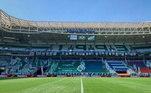 5) Palmeiras - prejuízo de R$ 404.399,14 em seis partidas como mandante no período