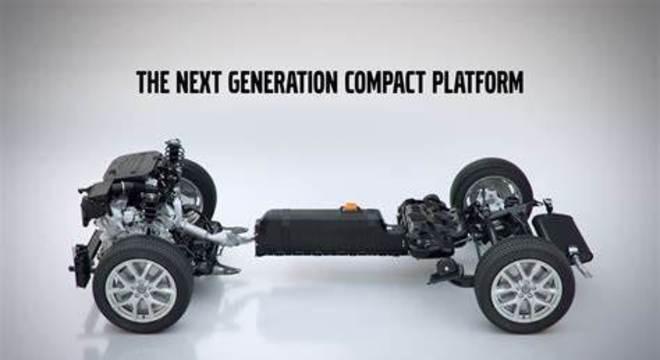 Plataforma CMA desenvolvida pela Geely e Volvo em conjunto