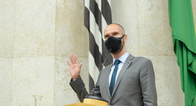 Posse do prefeito Bruno Covas na Câmara do Vereadores