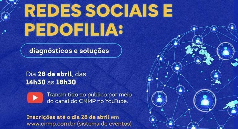 CNMP promove evento sobre combate à pedofilia nas redes sociais