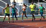 19.07.2021 - Jogos Olímpicos Tóquio 2020 – Atletismo misto - Delegação do atletismo durante treinamento na cidade de Saitama - Foto: Wander Roberto/COB