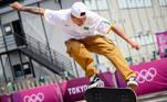 20.07.2021 - Jogos Olímpicos Tóquio 2020 - Tóquio - Ariake Urban Sports Park - Skate - Primeiro treino da equipe brasileira de Skate, na foto Giovanni Vianna durante treino. Gaspar Nóbrega/COB
