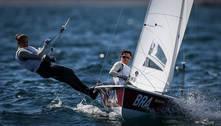 Fernanda e Ana vencem regata da 470 e vão lutar por medalha na vela