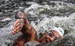 04.08.2021 - Jogos Olímpicos Tóquio 2020 - A atleta Ana Marcela Cunha vencedora da prova de maratonas aquáticas Odaiba Marine Park em Tóquio. Foto: Jonne Roriz/COB